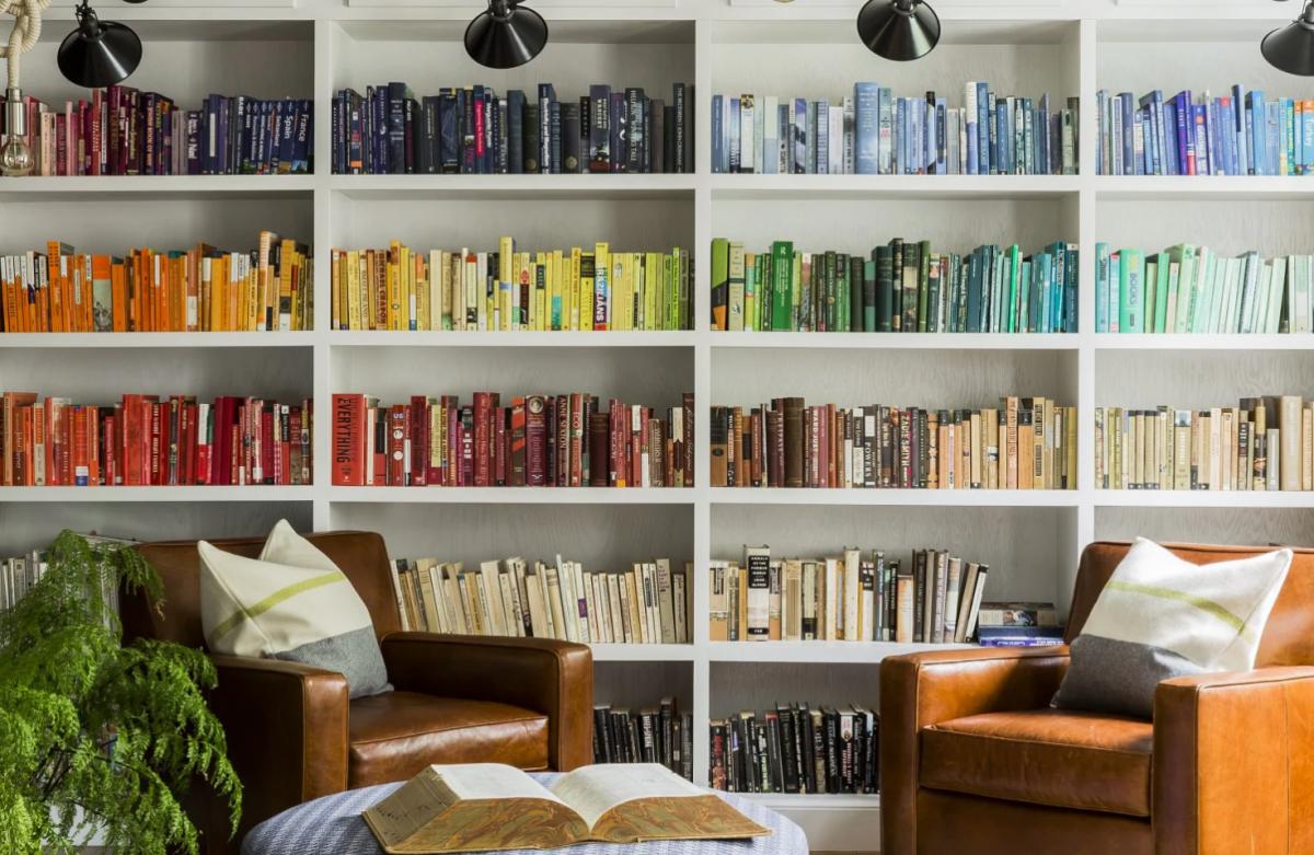 Organization Of Your Bookshelves